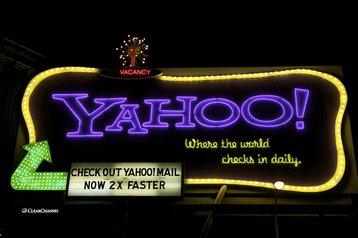 The Yahoo billboard