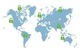 Zenedge global map
