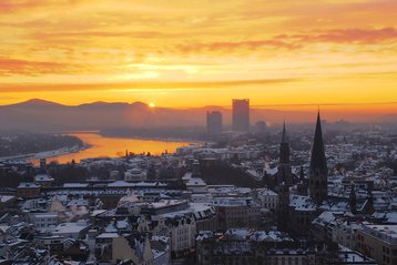 Sunrise over Bonn