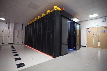 Inside an IP House 'pod'