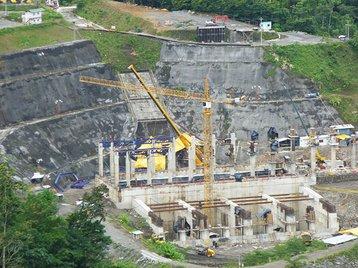 The Reventazon Dam - Central America's largest renewable energy project