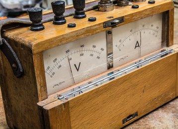 Vintage electric meter