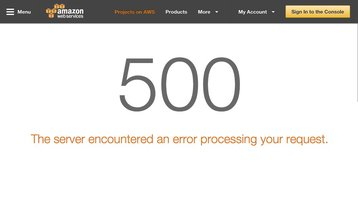 Amazon Web Services down