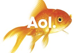 Aol logo - fish