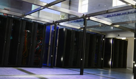 The aql data center in Leeds
