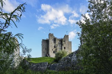 Trim castle in Meath County, Ireland
