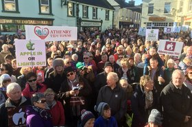 Athenry for Apple march