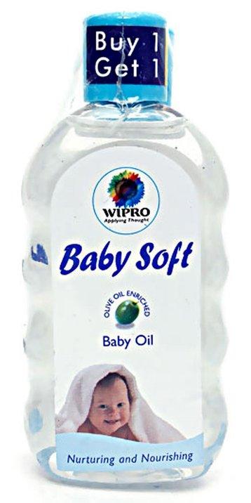 Wipro baby oil