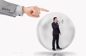 bubble burst DCIM business marketing PR spin Thinkstock Wavebreakmedia Ltd