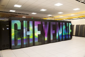 Cheyenne supercomputer