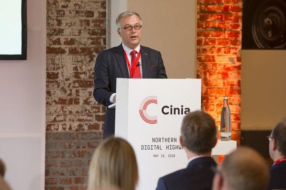 Ari-Jussi Knaapila, CEO of the Cinia Group