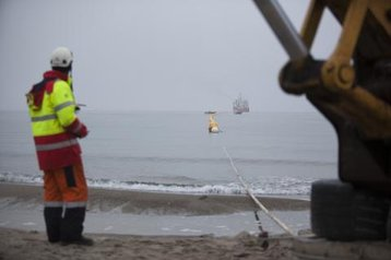 The final stage of the C-Lion1 project in Rostock