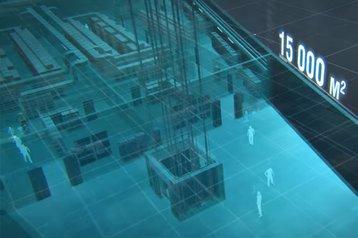 european data hub luxembourg underground