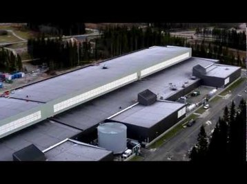 Facebook's first data center in Luleå, launched in 2013