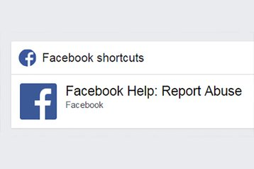 facebook report abuse lead