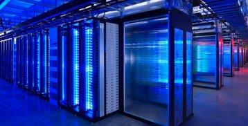 Facebook LEDs