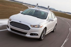 Ford Fusion self driving car