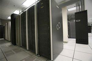 Fujitsu data center in Sunnyvale, California