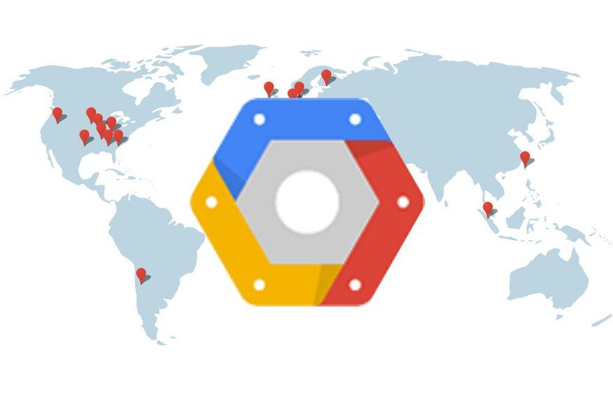 google cloud platform world lead