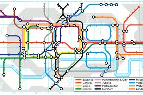google doodle london underground tube wide