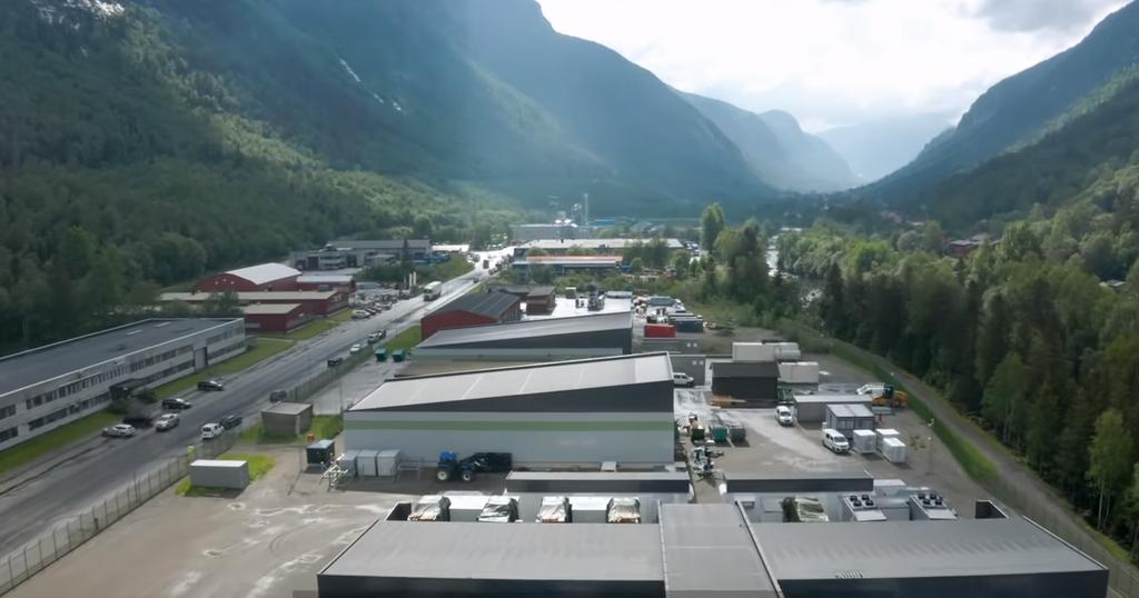 Green Mountain Data Center in Norway