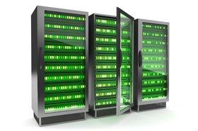 green server rack data center energy Thinkstock Cybrain_0.jpg