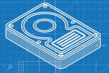 hard drive design blueprint