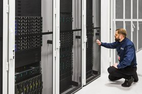 Inside Verne Global's Icelandic data center