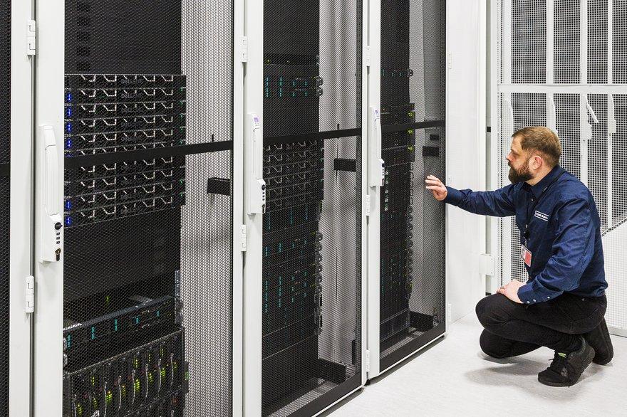 Inside Verne Global's Icelandic data center