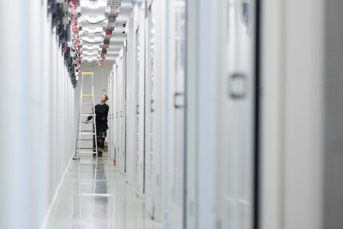 Inside Hydro66 data center