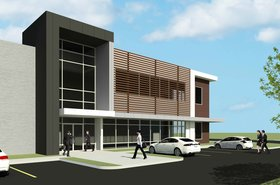 Upcoming data center campus in Hammond - 3D render