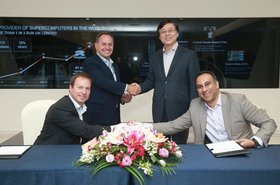 Intel and Lenovo MoU Signing