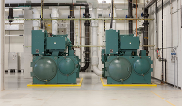 Power equipment at QTS Irving