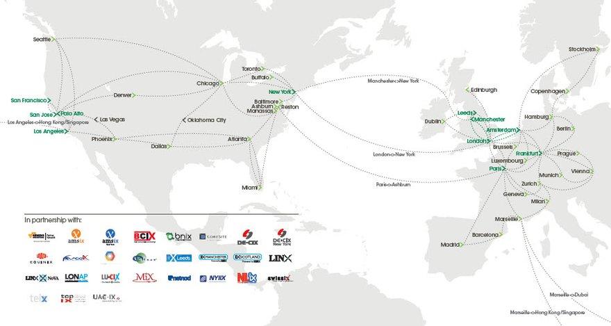 IX Reach Global Network