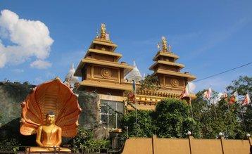 Mahamevnawa Amawatura Monastery, Malabe, Sri Lanka