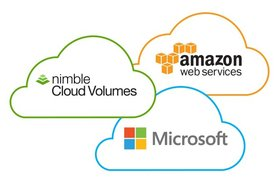 Multi-cloud storage from Nimble