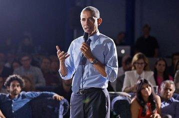 Barack Obama speaking on Net Neutrality