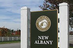 new albany business park