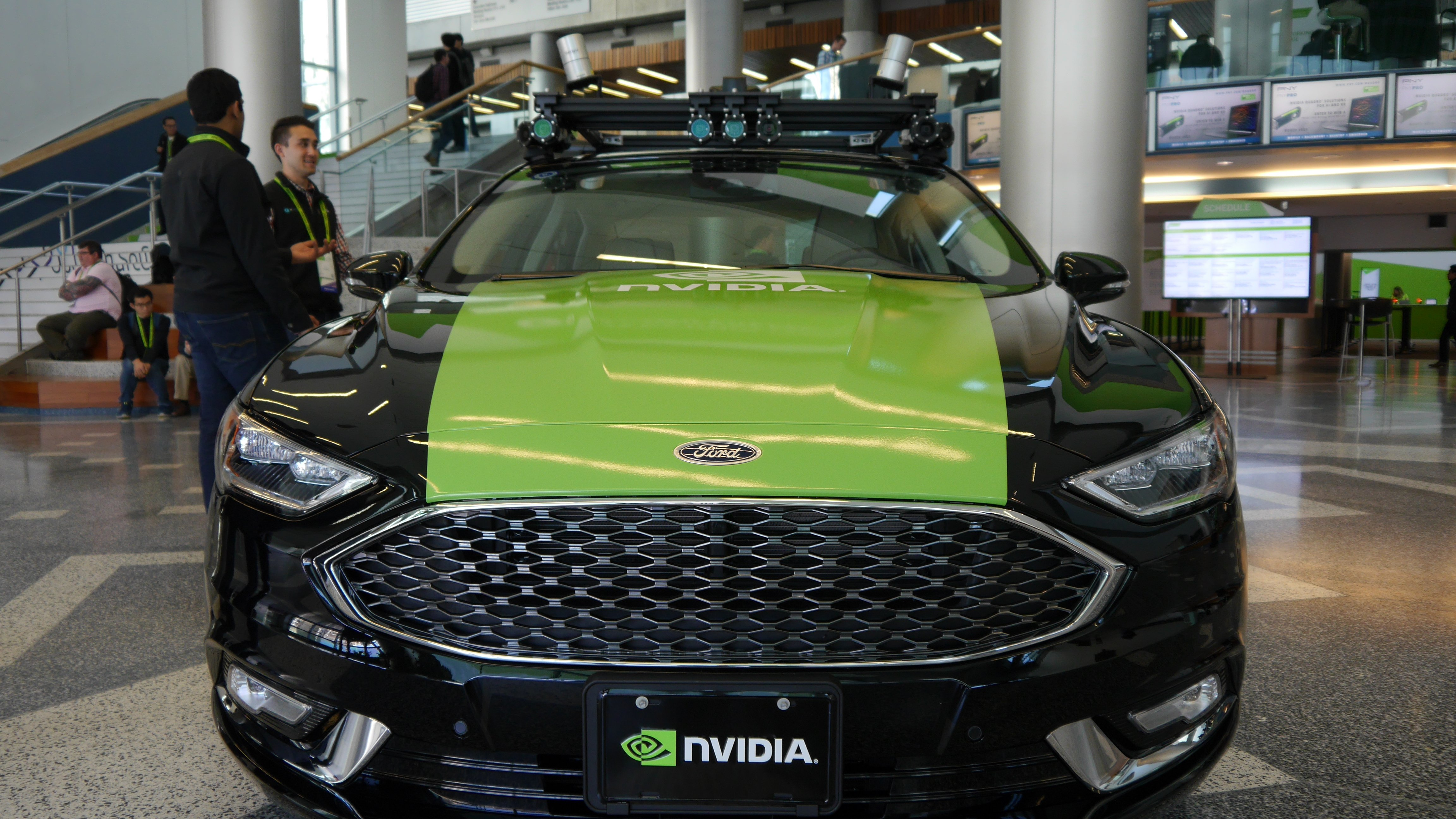 Nvidia simulates self-driving cars in the data center - DCD