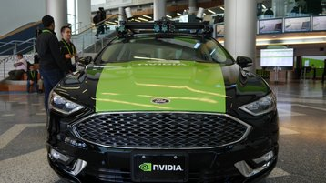 Nvidia self driving car