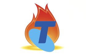 Telstra on fire