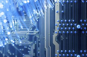Fiber optic cable, circuit board