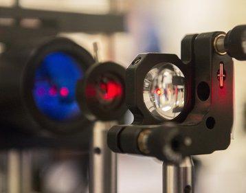Penn State infrared laser beam