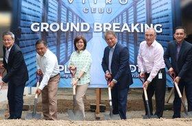 PLDT Vitro facility ground breaking in Cebu