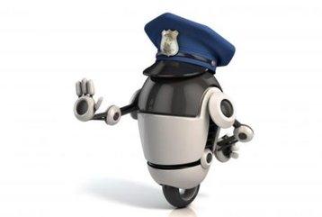 robot policeman thinkstock