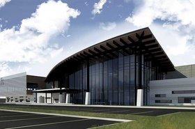 CyrusOne San Antonio II data center render