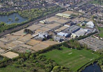 sanofi aerial view barking and dagenham post