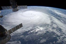 satellite hurricane