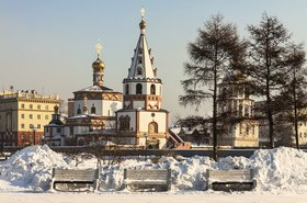 Irkutsk in winter