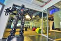 Google's robot themed office in Singapore